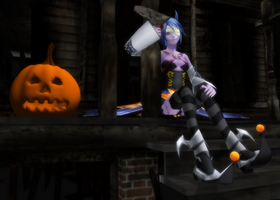 MMD Happy Halloween by 0-0-Alice-0-0