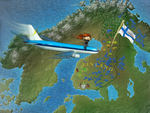 Fly to Finland by OrlaPrion