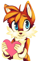 Tails Valentine by thatWeasel