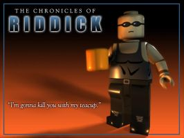 Lego Riddick 1024x768 by toddworld