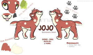 .:JoJo Reference Sheet:. by SenimaSan