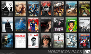 Movie Icon Pack 157 by FirstLine1
