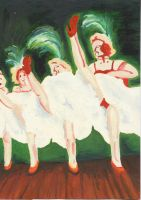 Dancers Moulin RougeDancer by Ezzywellz