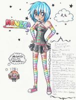 Monica - Character Sheet :D by Anime-Angelz