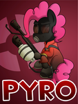Pony Fortress 2: Pyro by 10art1