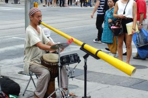 Street's musician by hsbzh