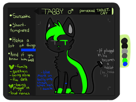 Tabby Ref 2O13 by campfyre