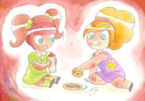 Team Girl: Play Date by PinkPigtails