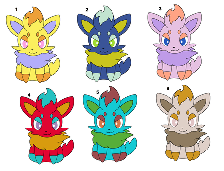 Cheap Zorua Adoptables -CLOSED- by Zoruaofepic