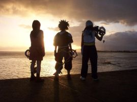 Kingdom Hearts: Sunset Horizon by Ravenspiritmage