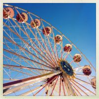 Ferris wheel I by vw1956