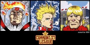 CommunistLeague Sketchcards I by augustustodopoderoso