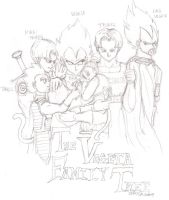 The Vegeta Family by SL-i-P