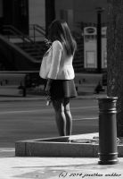 Waiting and Texting by jwebbermedia