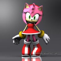Amy Rose: Sonic's Ultimate Fan by Irishhips