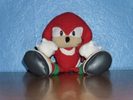 My Knuckles Plush by DarkGamer2011