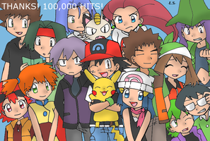 Pokemon Group - 100K by Endless-Rainfall