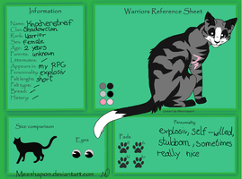 Reference Sheet: Knochenstreif by Lizzara