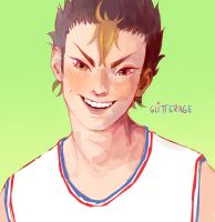 Nishinoya by glitterage