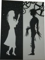 Edward Scissorhands and Kim by Hell-Is