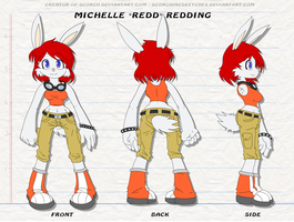 "360 Michelle ""Redd"" Redding by 0tacoon"