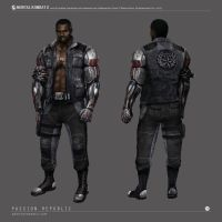 Mortal Kombat X - Jax Concept Art by johnsonting