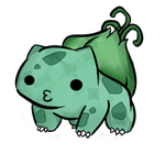 oo1 Pokemon - Bulbasaur by JessicaFreaxx