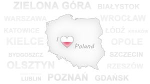 I Love Poland Wallpaper by GregKmk