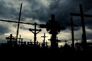 Hill of Crosses by LordXar