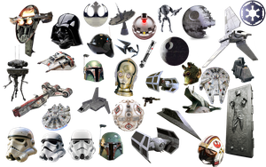 Star Wars Icons Pack-2 by 1darthvader