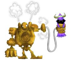 Blitzcrank Fan art by kaspermol