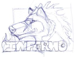 Inferno sketch-Trade Ruxxer by Isofur