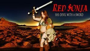 Red Sonja cosplay wp starring Desiree Cosplay by SWFan1977