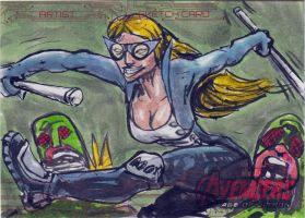 Avengers Sketch Card 2014  1 by FWACATA