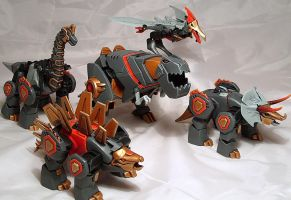 Animated Dinobots by Spurt-Reynolds