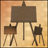 Easel by Stock-by-Dana