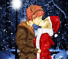 Christmas Warmth - Nalu Gif by willowspritex3