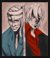 Gilver and Tony RedGrave by MaqiChanThunder