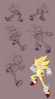Sonic doodles by frandlle