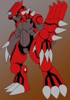.:WIP:. Groudon reploid by manyuladic
