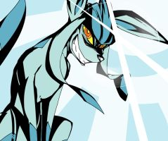 TEGGEN TOPPA GURREN GLACEON LAGGAN by Wouhlven