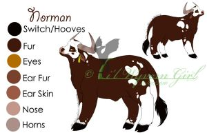 Norman Ref Sheet by lilwyverngirl