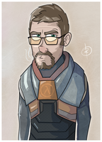 Gordon Freeman in the flesh by reigneous