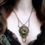 Fantasy Fairy Necklace ''Nyssa'' by YouLookPale