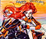 happy birthday alandra-noir 2014 by ekocola