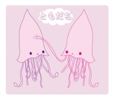 Squid Friend by pullmeoutalive