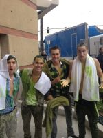 Big Time Rush ::Slimed:: by scr3aam3r