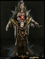 DWV_God of Plague by ZawYeMyint1