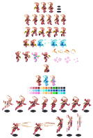 Roll EXE sprites by itsmelila