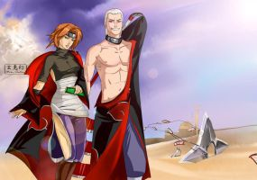 The first mission in the Akatsuki by Moon-illusion